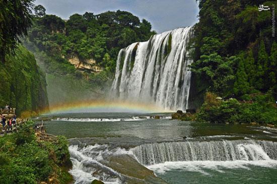 هفت آبشار که نفستان را میگیرد