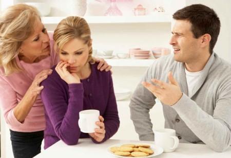 خانه و خانواده همسر داری  , برقراری رابطه صحیح با خانواده همسر