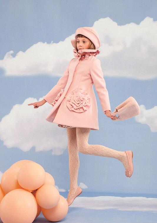 مدل لباس بچگانه - مدل پالتو دخترانه