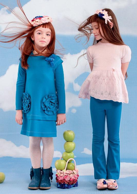 مدل تونیک پاییزی بچگانه - مدل لباس بچگانه پائیزی