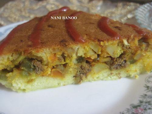 کیک گوشت • طرز تهیه کیک گوشت• کیک گوشت مجلسی • انواع کیک گوشت • طرز تهیه کیک گوشت بدون نیاز فر