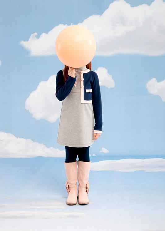 مدل تونیک پاییزی بچگانه - مدل لباس پاییزه دخترانه