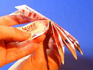 آموزش اریگامی و تزیین پول