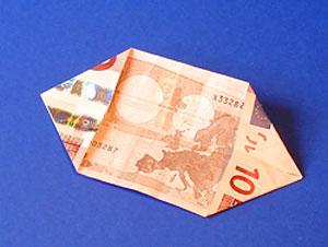 آموزش اریگامی - تزئین پول - آموزش تزیین پول - تزیین پول برای شاباش