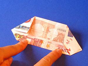 آموزش اریگامی - تزیین پول - آموزش تزیین پول - تزیین پول برای شاباش