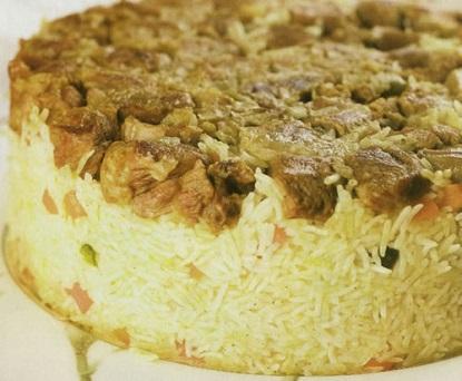 دستور پخت غذا  , طرز تهیه ته چین گوشت و سبزیجات