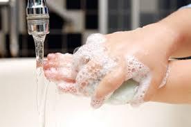 شستن با صابون