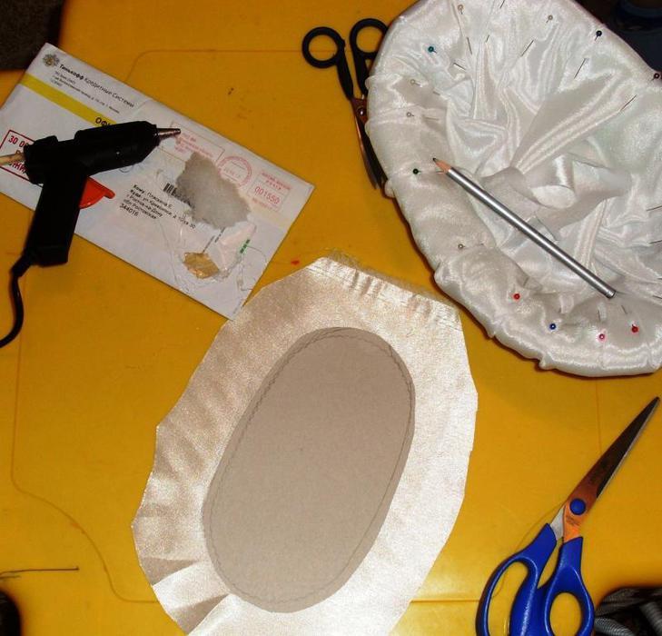 آموزش هنرهای دستی  , آموزش تصویری ساخت خنچه عقد - 2