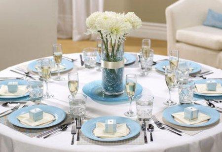 تزئین میز غذا