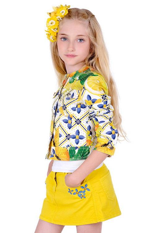 لباس بچگانه مدل لباس,کیف,کفش,جواهرات  , لباس دخترانه بهاره ۲۰۱۵ لورا بیاجیوتی - سری اول