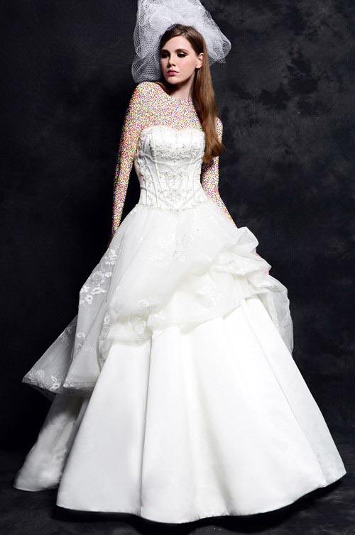 مدل لباس عروس جدید - لباس عروس Eden Bridals