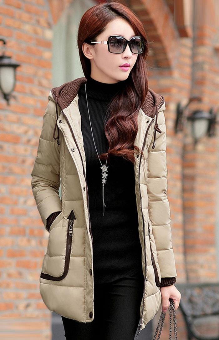 مدل پالتو زنانه کرمی رنگ کره ای