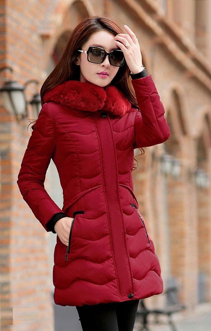 مدل پالتو دخترانه قرمز