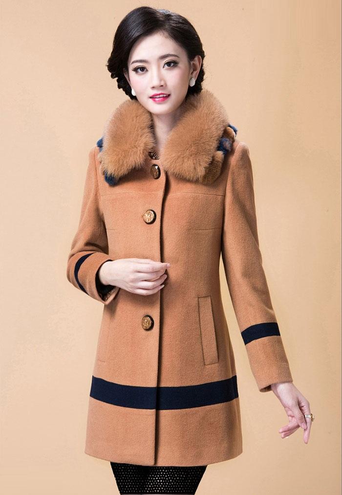 مدل جدید پالتو زنانه - لباس زمستانی زنانه