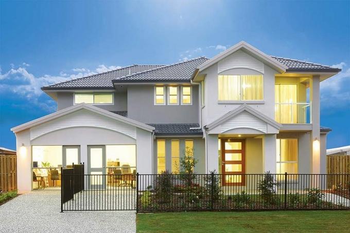 خانه ویلایی - معماری ویلایی - نمای منزل
