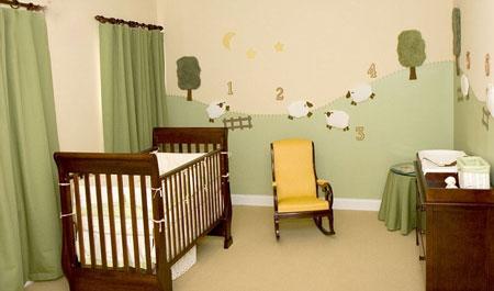 تزئین دیوار اتاق بچه