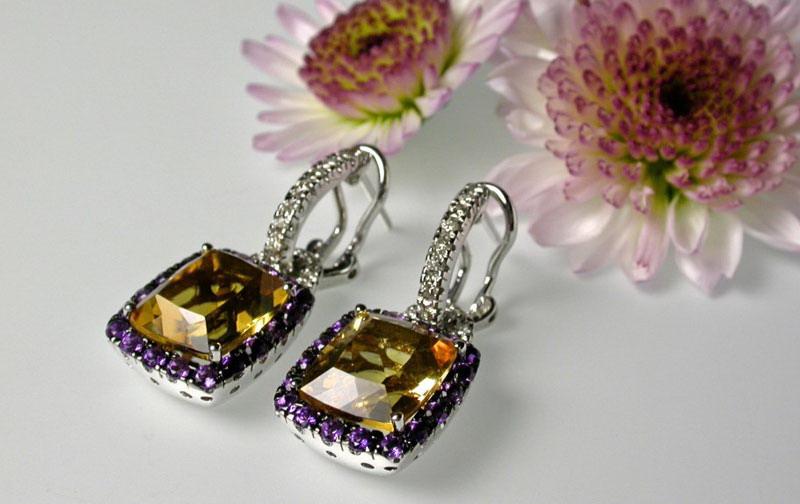 مدل جواهرات - مدل گوشواره