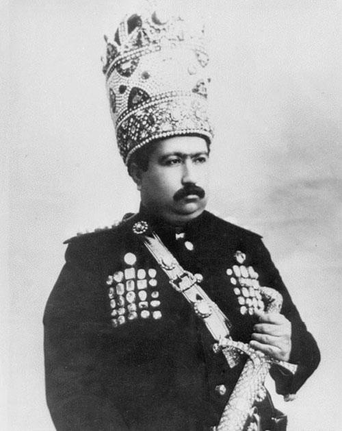 (تصاویر) تاجگذاری محمدعلی شاه قاجار