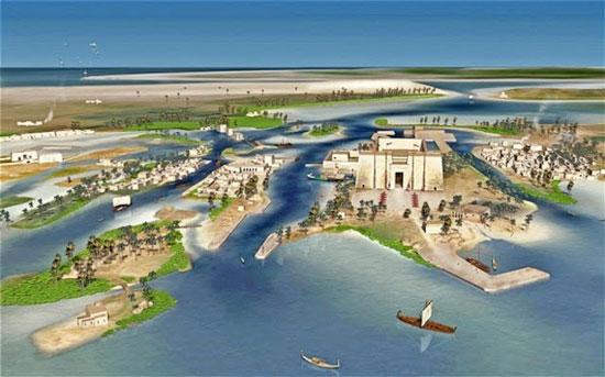 اخبار داغ اخبار علمی و پژوهشی  , کشف شهر کهن مصر بعد از 1200 سال