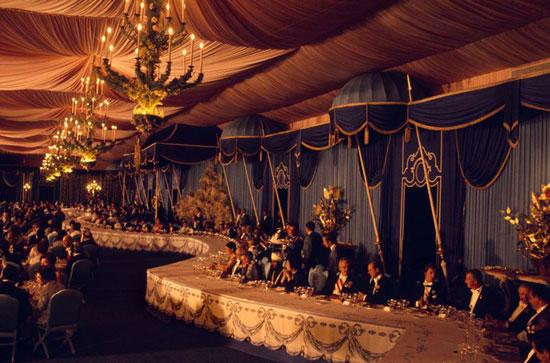 (تصاویر) جشنهای 2500ساله؛ میهمانی گزاف
