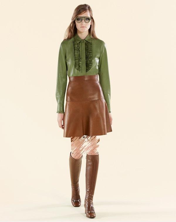 مدل لباس زنانه پاییزی Gucciمدل لباس زنانه پاییزی Gucci