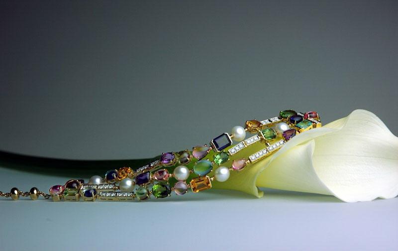 مدل جواهرات - مدل گردن آویز