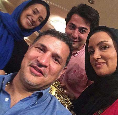 شخصیت های ایرانی عکس و کلیپ  , سلفی چهره ها در دنیای مجازی 3