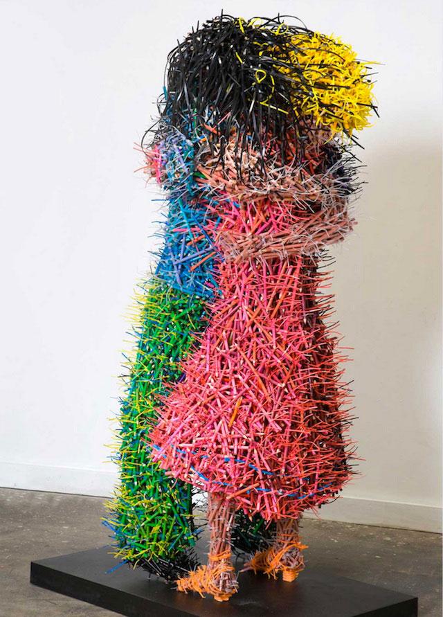 آثار هنری با مداد رنگی