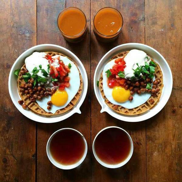 صبحانه زن و شوهری