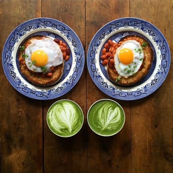 صبحانه دو نفره