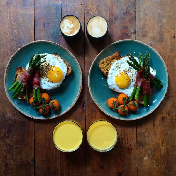 میز صبحانه دو نفره