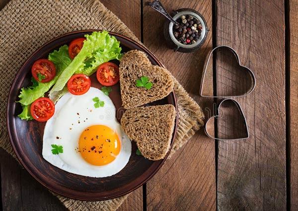 صبحانه عاشقانه