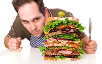 گرسنگی پرخوری