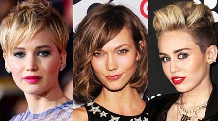 مدل مو, مدل موی کوتاه, مدل موی کوتاه زنانه
