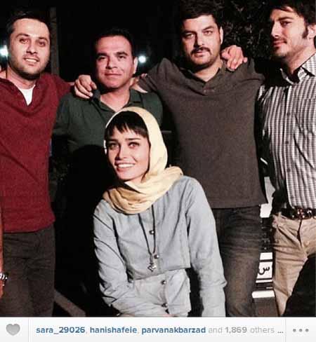 شخصیت های ایرانی عکس و کلیپ  , سلفی چهره ها در دنیای مجازی 1
