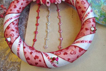 آموزش هنرهای دستی  , آموزش تصویری ساخت حلقه تزئینی در