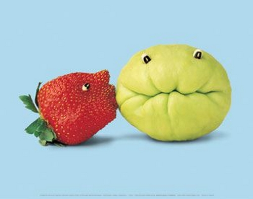 سفره آرایی  , خلاقیت در تزئین میوه و سبزیجات