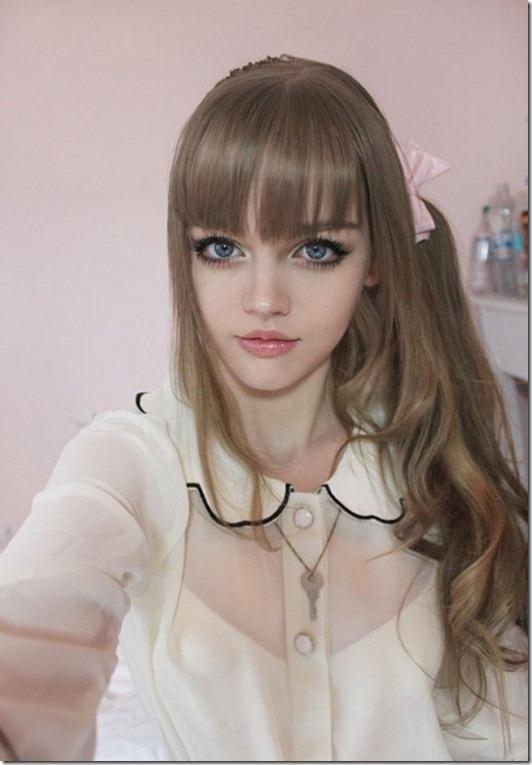 باربی دنیای واقعی- دختر زیبای جهان- زیباروی 16 ساله