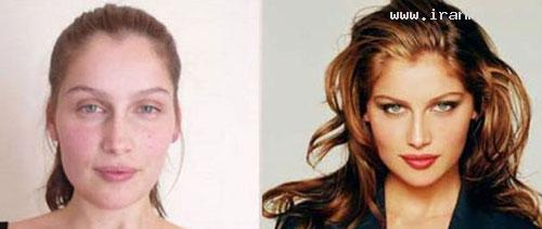 شخصیت خارجی عکس و کلیپ  , عکس سوپرمدل های زن