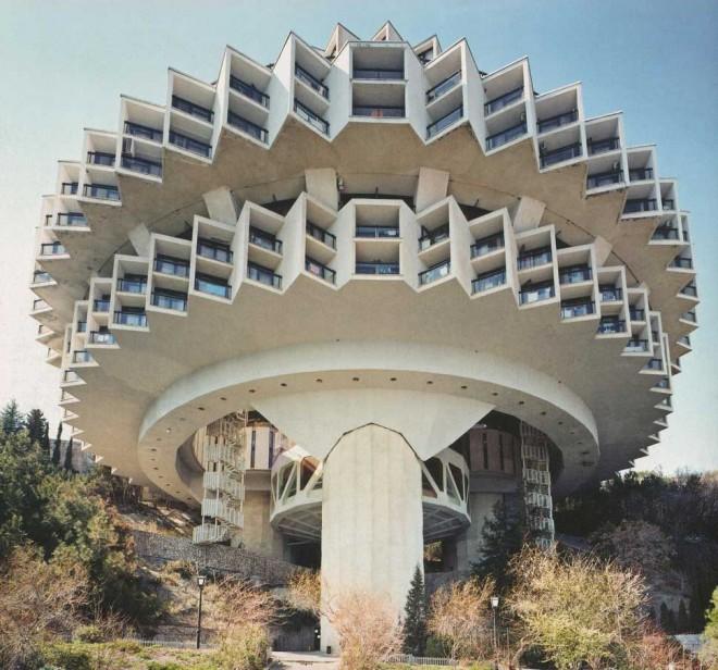 معماری های جالب و عجیب