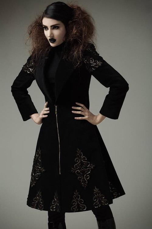 مدل لباس,کیف,کفش,جواهرات مدل مانتو مدل مانتو پاییزی  , مدل لباس زنانه پاییزی برند آنا 2