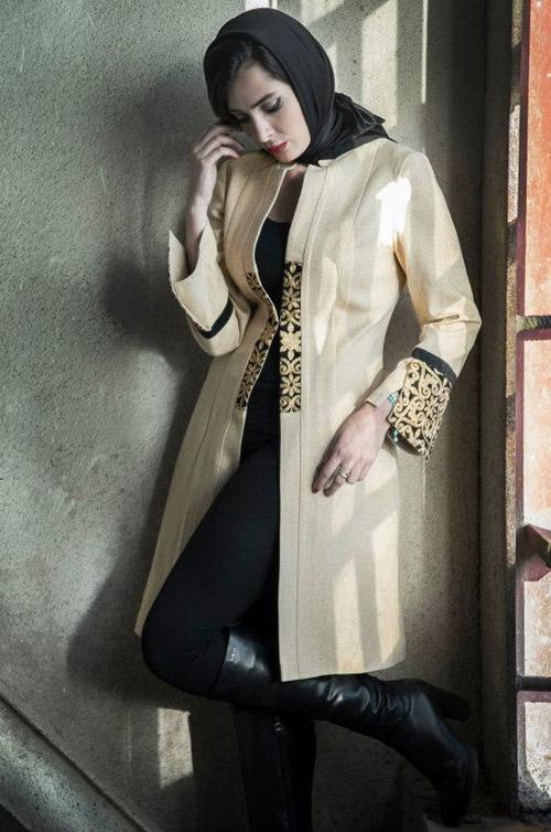 مدل مانتو پاییزه Aida Rahimi