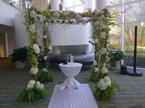جایگاه مراسم عروسی , جایگاه عروس و داماد