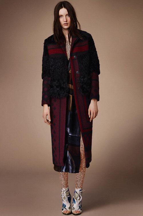لباس زنانه Burberry کت و پالتو زنانه