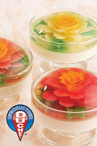 ایده های تزیین ژله (تزریقی، میوه ای، خرده شیشه، لایه ای و...)