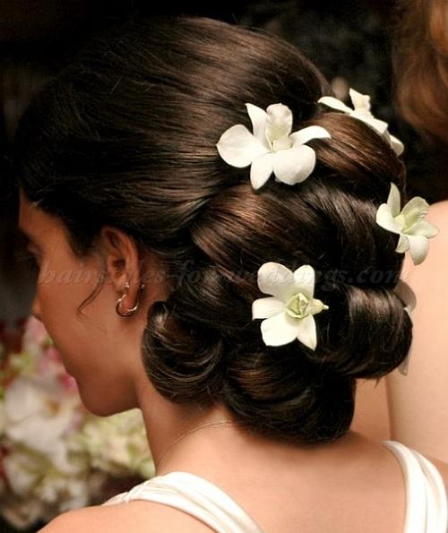 آرایش و موی عروس نو عروس  , آرایش و شینیون موی عروس 6