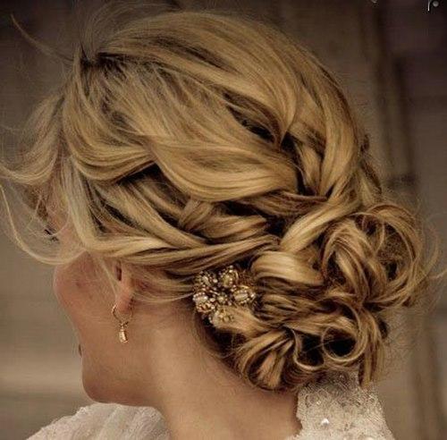 مدل موهای زنانه - مدل شینیون موی عروس