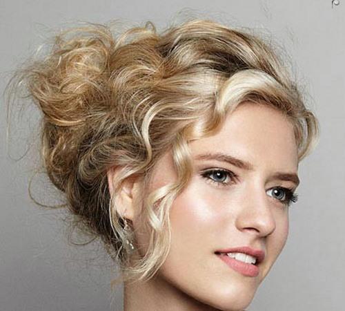 مدل موهای زنانه - شنیون موی عروس