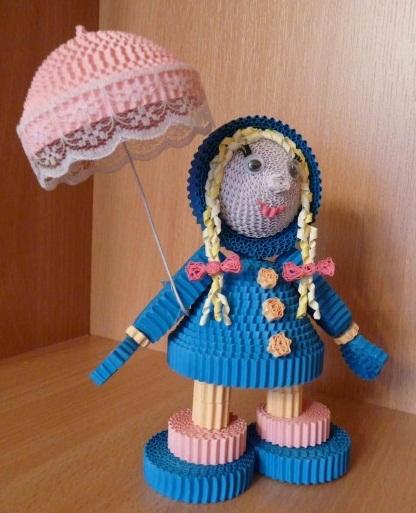 آموزش عروسک سازی  , عروسک سازی با کاغذ و مقوا