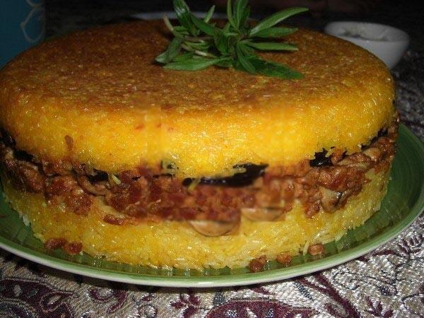 غذای رژیمی  , طرز تهیه ته چین قارچ و بادمجان